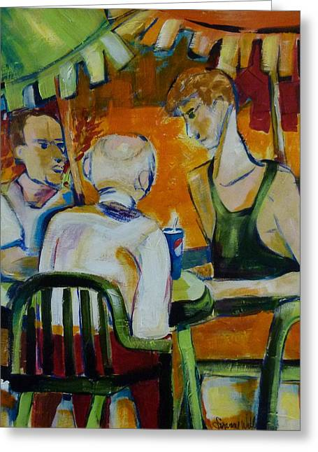Three Generations Greeting Card by Suzanne Willis