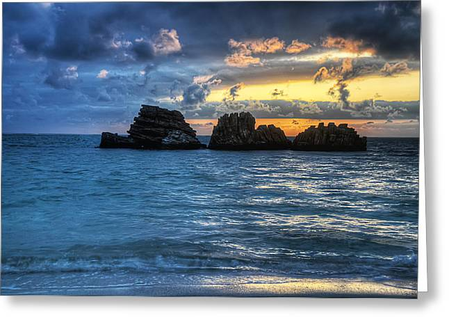 China Beach Greeting Cards - Three Kings Greeting Card by Ryan Wyckoff