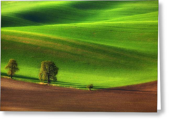 Moravia Greeting Cards - Three musketer Greeting Card by Pawel Uchorczak