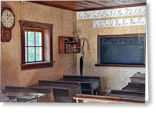 Barkerville Greeting Cards - Three Rs Greeting Card by Ed Hall