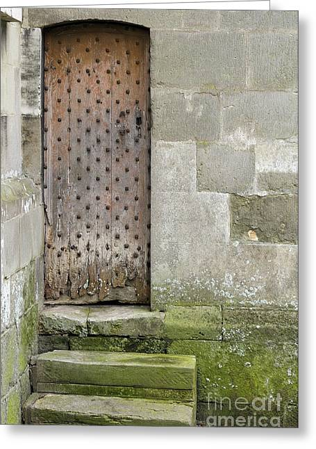 Nailed Shut Greeting Cards - Three Steps Greeting Card by Doug Wilton