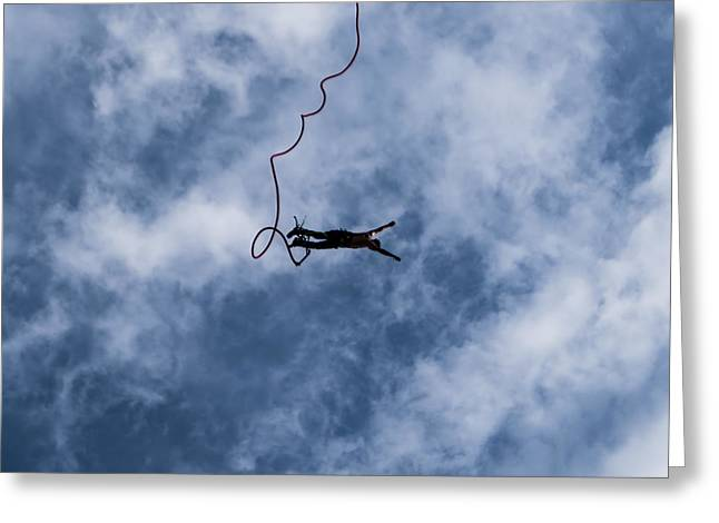 Bravery Greeting Cards - Thrill Seeker Greeting Card by Antony McAulay