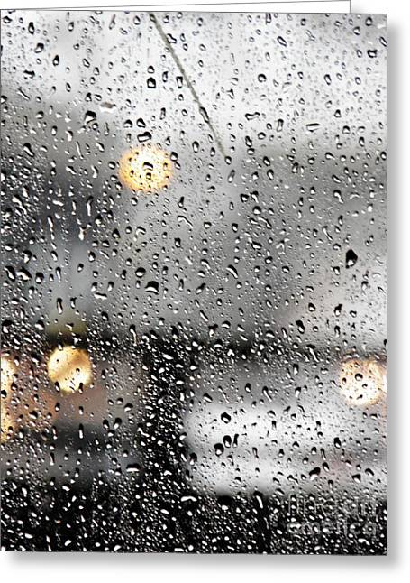 Through A Glass Darkly Greeting Card by Sarah Loft