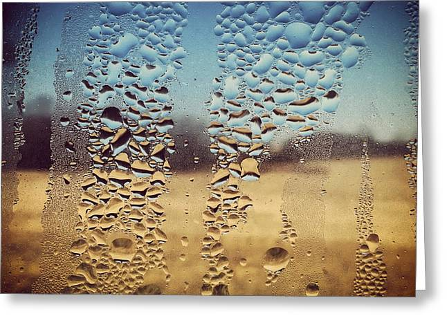 Through Glass 1 Greeting Card by Natalie Lizza