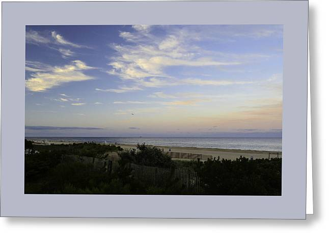 Para Surfing Greeting Cards - Through the Dunes Greeting Card by Debra Bowers
