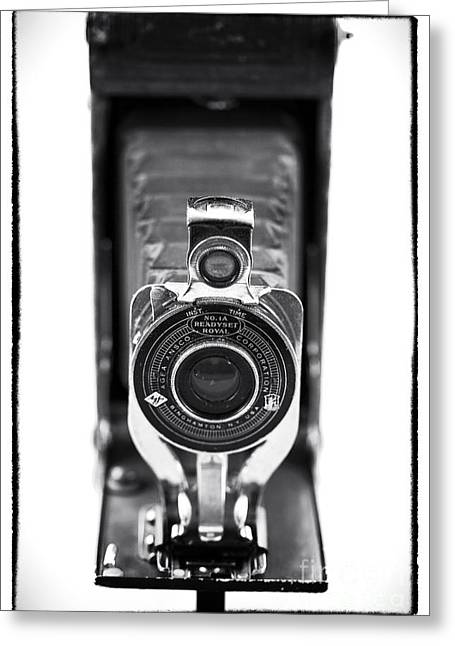 Through The Lens Greeting Card by John Rizzuto