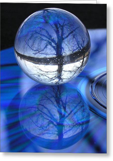 Digipho333 Studio Greeting Cards - Through The Looking Glass Greeting Card by Shannon Story