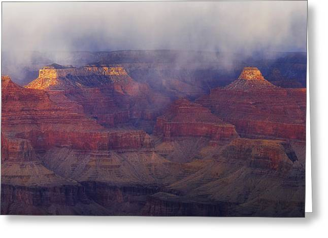 Through The Storm Greeting Card by Peter Coskun