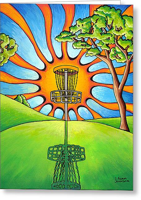 Best Sellers -  - Basket Ball Game Greeting Cards - Throw Into The Light Greeting Card by Adam Johnson