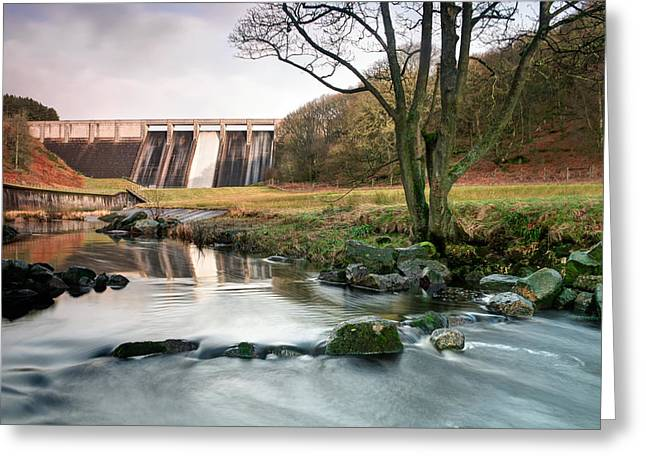 Christs Birthday Greeting Cards - Thruscross Resevoir  Greeting Card by Chris Frost