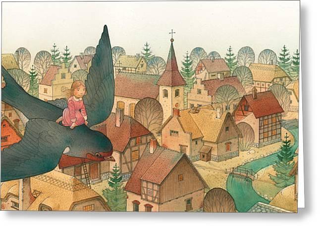 Thumbelina02 Greeting Card by Kestutis Kasparavicius