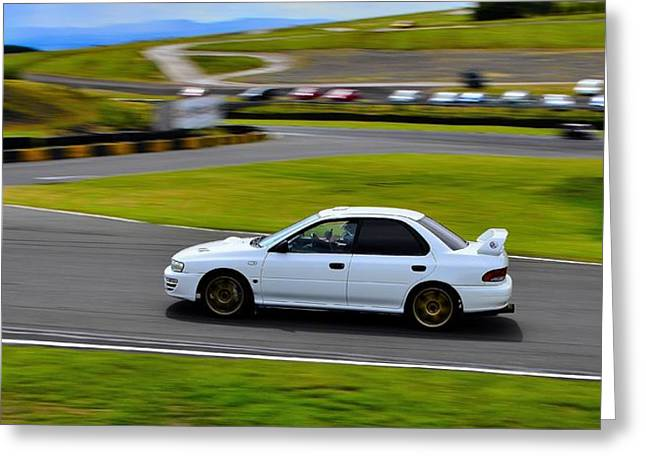 Prodrive Greeting Cards - Thumbs Up Greeting Card by Phil Kellett