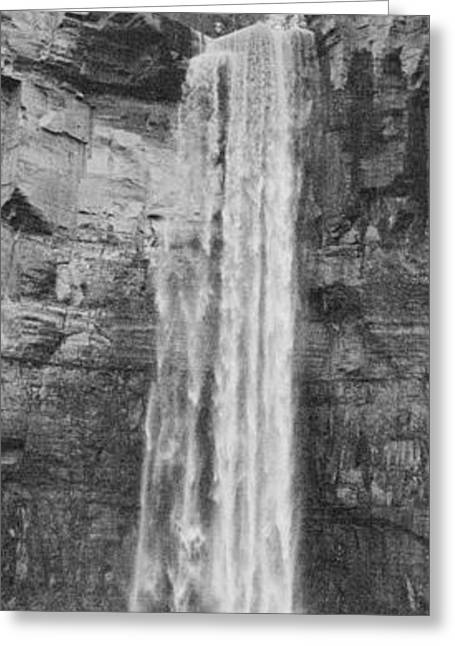 Taughannock Falls State Park Greeting Cards - Thunder in the Air Greeting Card by Joshua House