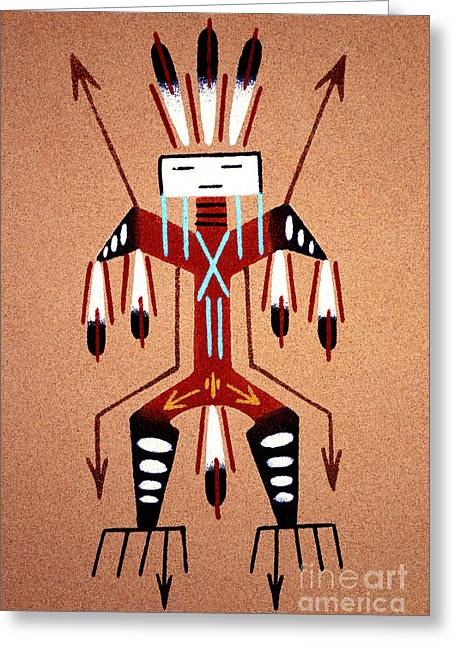 Kachina Greeting Cards - Thunder Kachina Greeting Card by Paul W Faust -  Impressions of Light
