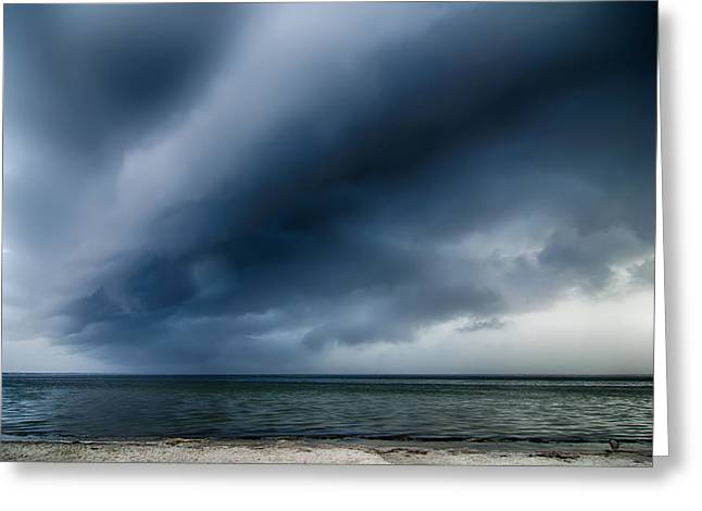 Thunderstorm Cloud Greeting Card by Alexandr Grichenko