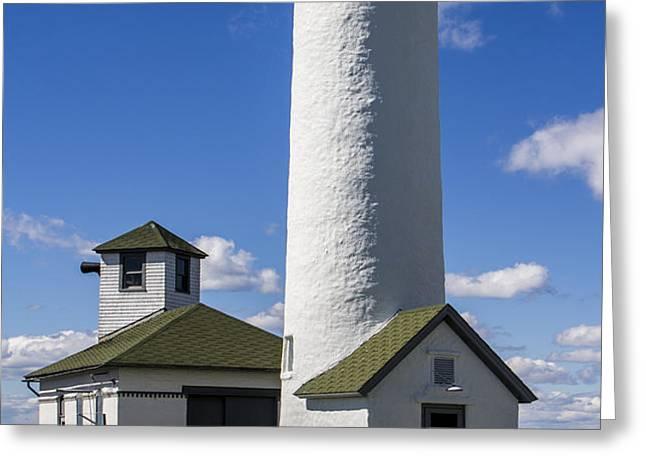 Tibbetts Point Lighthouse Greeting Card by Ben and Raisa Gertsberg