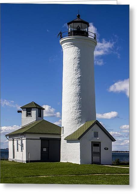 Ben Gertsberg Greeting Cards - Tibbetts Point Lighthouse Greeting Card by Ben and Raisa Gertsberg