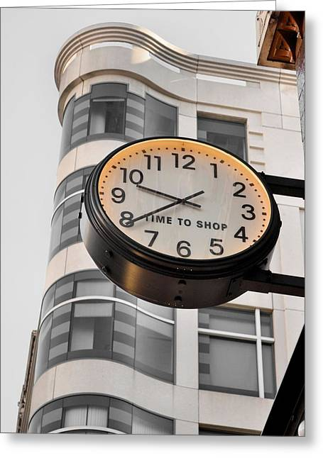 Amusements Greeting Cards - Tick Tock Greeting Card by JAMART Photography