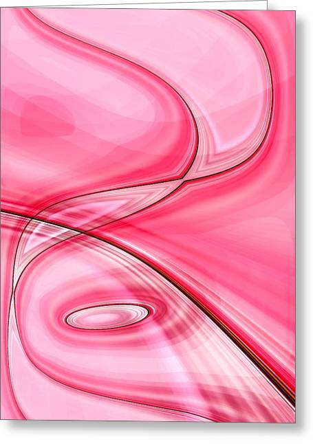 Tickled Pink Greeting Cards - Tickled Pink Greeting Card by Tom Druin