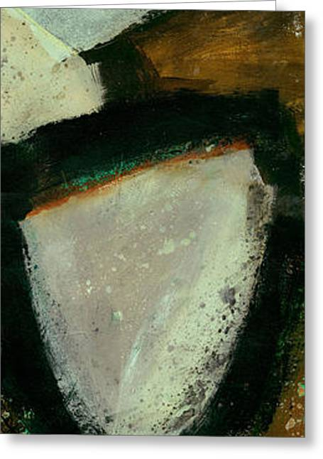 Vertical Paintings Greeting Cards - Tidal Current 2 Greeting Card by Jane Davies