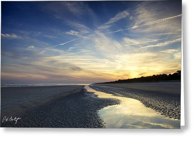 Recently Sold -  - Ocean Vista Greeting Cards - Tidal Stream Greeting Card by Phill  Doherty