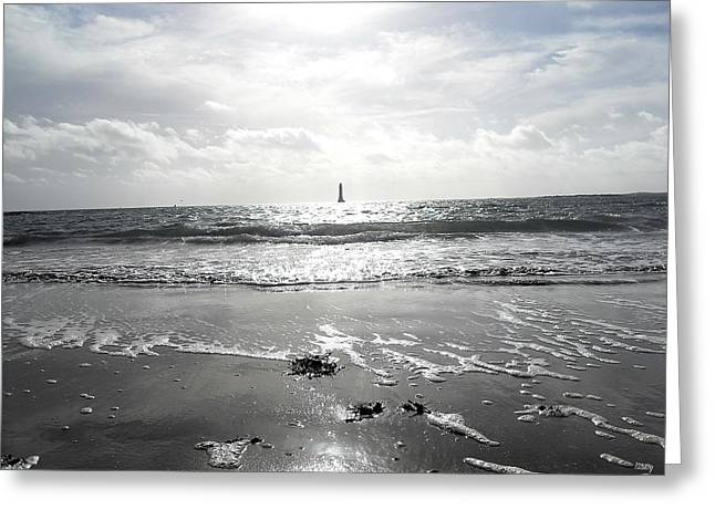 Ocean Art Photography Paintings Greeting Cards - Irish Landscape 7 Greeting Card by Patrick J Murphy