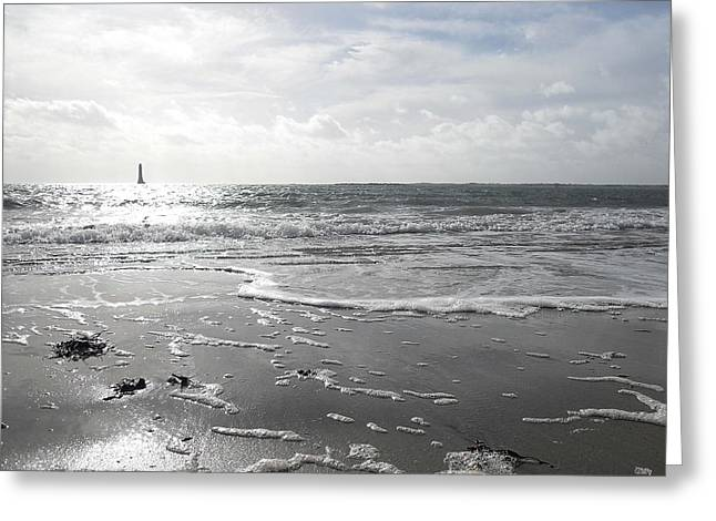 Ocean Art Photography Paintings Greeting Cards - Irish Landscape 6 Greeting Card by Patrick J Murphy