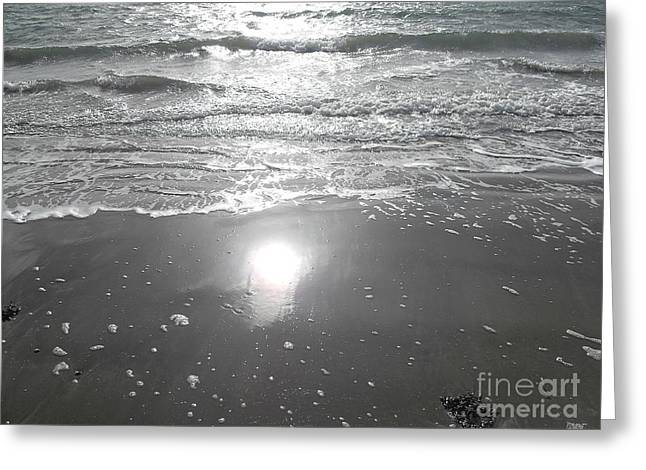 Shower Curtain Photographs Greeting Cards - Tide Waits For No One Greeting Card by Patrick J Murphy