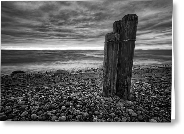 Whidbey Island Wa Greeting Cards - Tides of West Beach Greeting Card by Kevin Pate