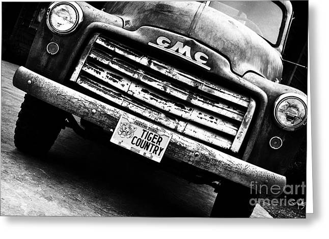 Old Truck Photography Greeting Cards - Tiger Country Greeting Card by Scott Pellegrin