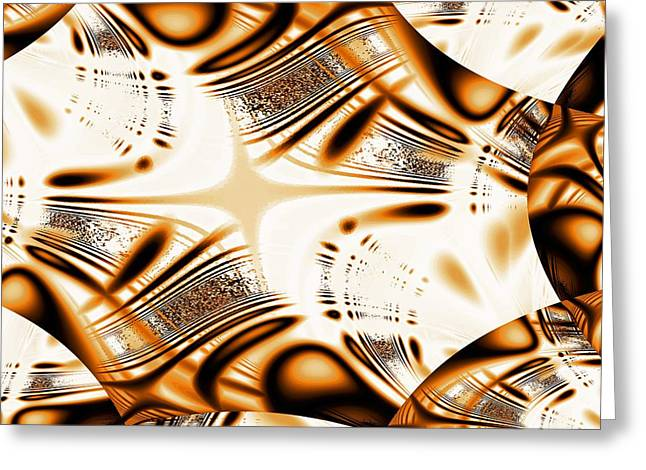 Reflection Greeting Cards - Tiger Eye Greeting Card by Anastasiya Malakhova