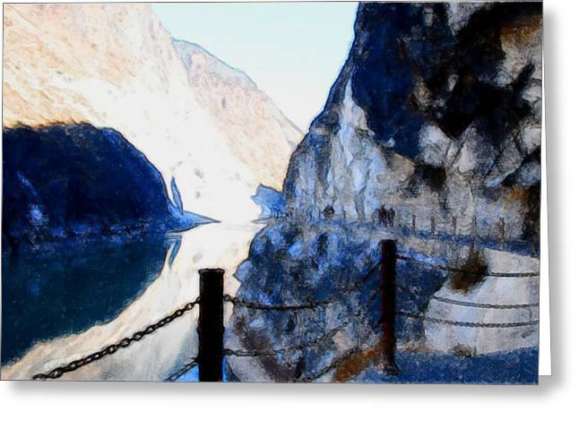 Deep River County Park Greeting Cards - Tiger Leaping Gorge 1 Greeting Card by Lanjee Chee