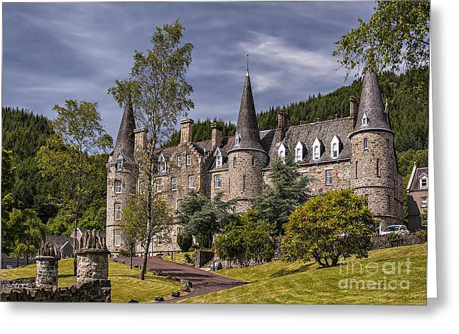 Historic Home Greeting Cards - Tigh Mor Trossachs 01 Greeting Card by Antony McAulay