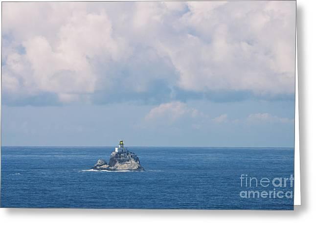 Tillamook Rock Lighthouse Greeting Card by Richard and Ellen Thane