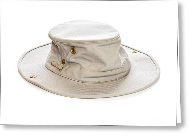 Tilley Hat Greeting Card by Colin and Linda McKie