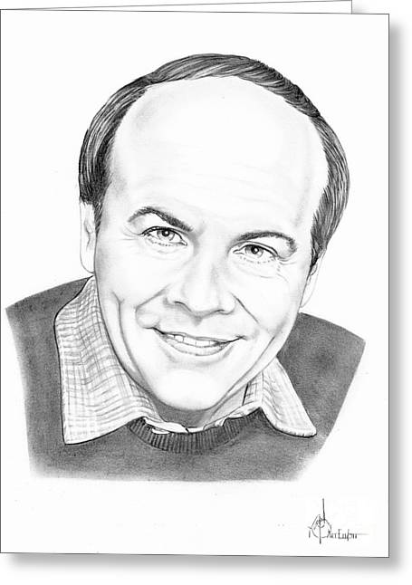 Most Greeting Cards - Tim Conway Greeting Card by Murphy Elliott