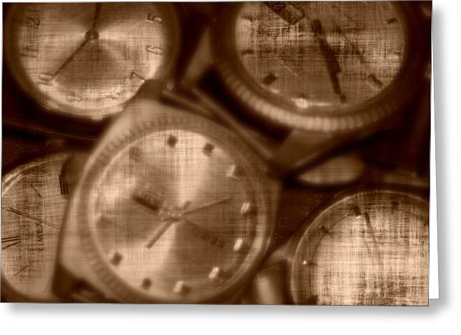 Time After Time Greeting Card by Barbara S Nickerson