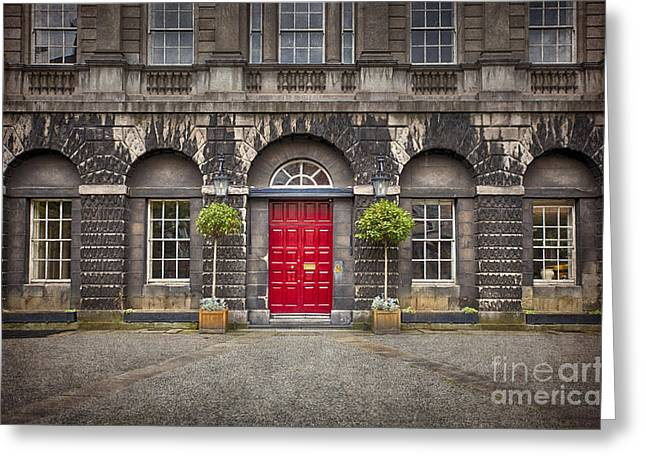 Entrance Door Greeting Cards - Time After Time Greeting Card by Evelina Kremsdorf