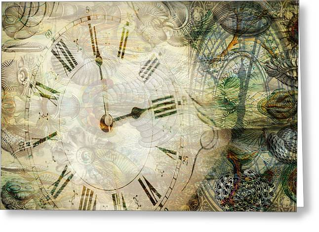 Sarah Vernon Greeting Cards - Time After Time Greeting Card by Sarah Vernon