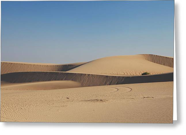 Sand Patterns Greeting Cards - Time Changes Things Greeting Card by Laurie Search