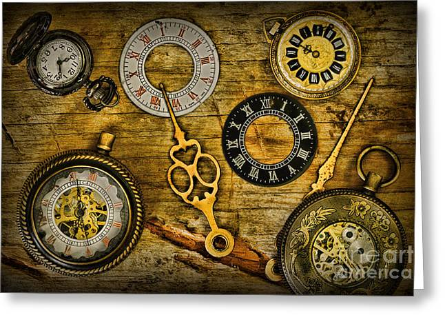 Watch Fob Greeting Cards - Time Explored Greeting Card by Paul Ward