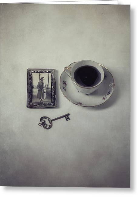 Photography Of Framed Pictures Greeting Cards - Time For Coffee Greeting Card by Joana Kruse