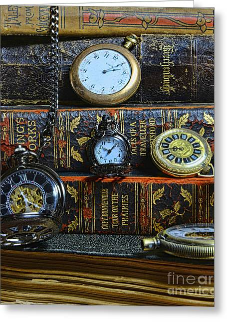 Rare Books Greeting Cards - Time for Reading Greeting Card by Paul Ward