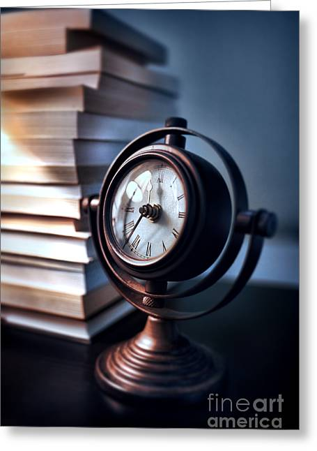 Interior Still Life Greeting Cards - Time Greeting Card by HD Connelly