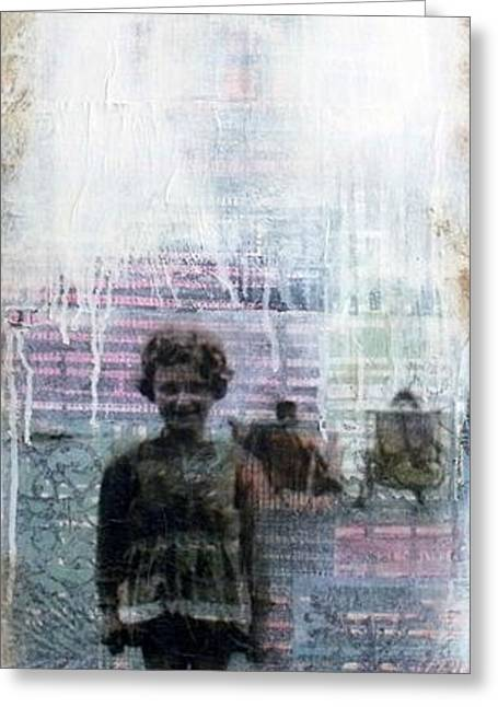 Time Is A Thief Greeting Card by Susan McCarrell