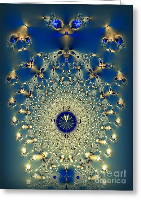 Time Is More Precious Than Jewels Greeting Card by Renee Trenholm