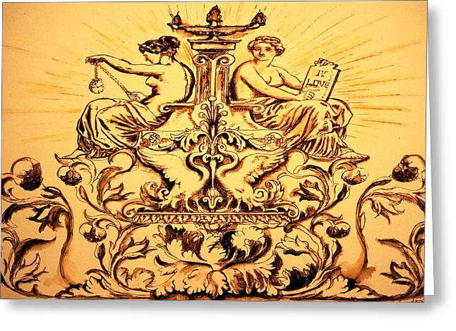 Religion Greeting Cards - Time IV Love  Greeting Card by Giorgio Tuscani