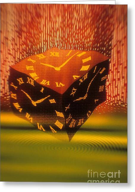 Time Greeting Card by Novastock