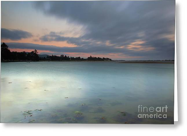 Lincoln City Greeting Cards - Time Passages Greeting Card by Mike  Dawson