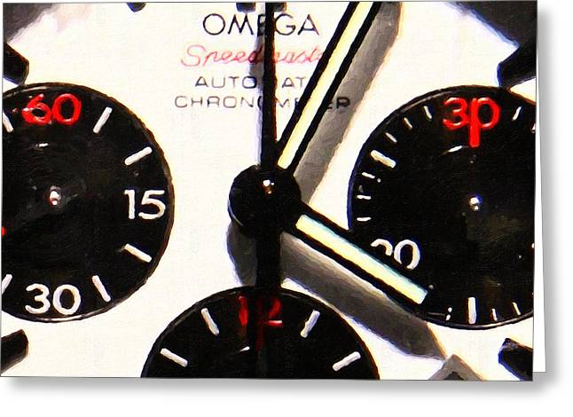 Time Piece - 5D20658 Greeting Card by Wingsdomain Art and Photography